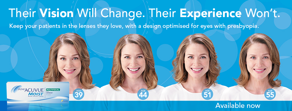 Acuvue oasys 1-day with hydraluxe offers outstanding levels of comfort and clarity