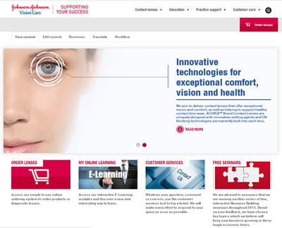 New Website Launched For Eye Care Professionals